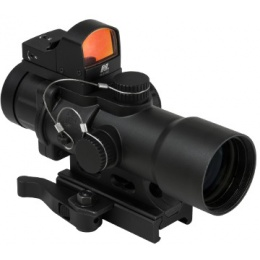 NcStar Micro Red Dot 3.5x32 Aluminum CPO Scope - BLACK