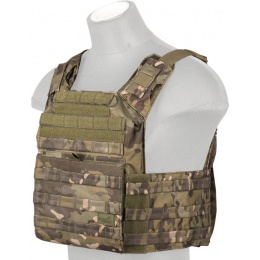 Lancer Tactical Polyester Speed Attack Tactical Vest (Camo Tropic)
