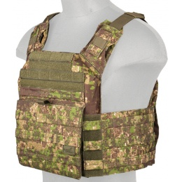 Lancer Tactical Polyester Speed Attack Tactical Vest (PC Green)