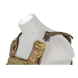 Lancer Tactical Polyester Speed Attack Plate Carrier - PC GREEN