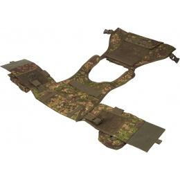 Lancer Tactical Airsoft Assault Plate Carrier - PC GREEN