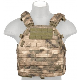 Lancer Tactical 600D Airsoft Plate Carrier Vest - AT-FG