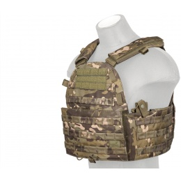 Lancer Tactical 600D Airsoft Tactical Vest (Camo Tropic)