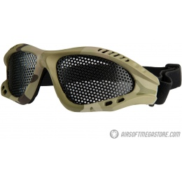 UK Arms Airsoft Tactical Mesh Goggle - MODERN CAMO