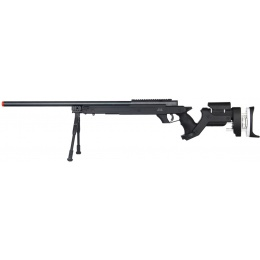 WELL Airsoft MB05BBIP L96 Bolt Action Rifle w/ Bipod - BLACK