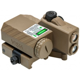 NcStar Tactical Offset Green Laser Designator w/ NAV LEDs - TAN