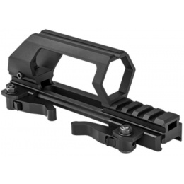 NcStar AR15 Gen 2 Carry QR Handle and Optic Mount - BLACK