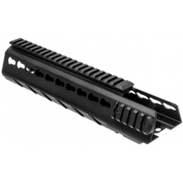 NcStar AR15 Triangle KeyMod Hanguard - Mid-Length - BLACK