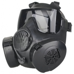 UK Arms Dummy CBRN Style EM50 Radioactive Face Mask - BLACK