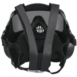 UK Arms Dummy CBRN Style EM50 Radioactive Face Mask - BLACK