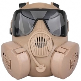 UK Arms Dummy CBRN Style EM50 Radioactive Face Mask - TAN