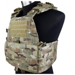 UK Arms T1781-M EG Cordura Tactical Assault Vest - CAMO