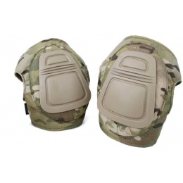 TMC Airsoft DNI Tactical Nylon Knee Pad Set - DESERT DIGITAL