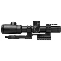 NcStar EVO 1.1-4 x 24mm Dot + P4 Sniper Scope w/ SPR Mount - BLACK