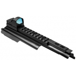 NcStar AK Micro Green Dot Optic w/ Receiver Cover - BLACK