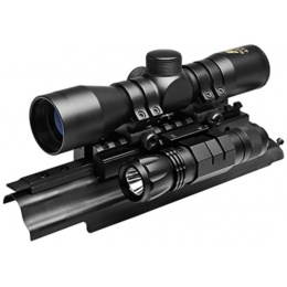 NcStar Sights N' Lights Tactical AK Combo - BLACK