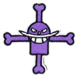 UK Arms Airsoft Tactical Whitebeard Patch - PURPLE