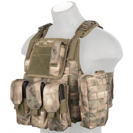 Lancer Tactical Cummerbund Adjustable Plate Carrier - AT-FG