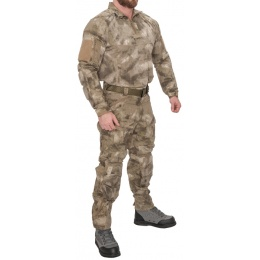 Lancer Tactical Rugged Combat Uniform w/ Integrated Pads - AT-AU