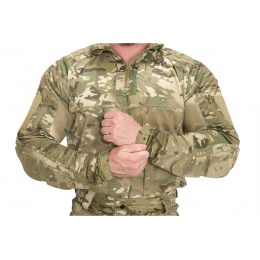 Lancer Tactical Rugged Combat Uniform w/ Integrated Pads - CAMO ARID