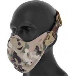 AMA Airsoft Neoprene Adjustable Hard Foam Mask - CAMO
