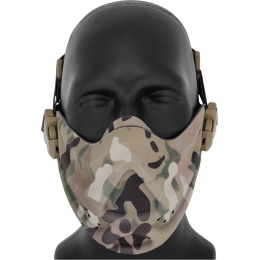 AMA Airsoft Neoprene Adjustable Hard Foam Mask - CAMO