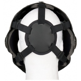 UK Arms Airsoft Wire Mesh Templar Mask - BLACK & GOLD