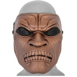 UK Arms Airsoft Persian Immortal Full Face Mask - RED BRONZE