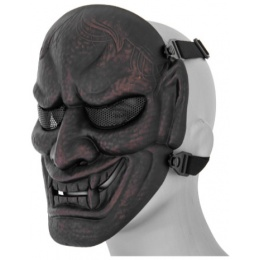 UK Arms Airsoft Shock Resistant Wisdom Mask - RED BRONZE