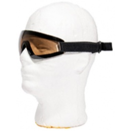 UK Arms Airsoft Low Profile Regulator Goggles - Tea Brown