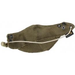 AMA Tactical Airsoft Nylon Half Face Mask - DESERT DIGITAL