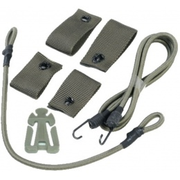 UK Arms Airsoft Tactical Helmet DIY Retention Deck Kit - OD GREEN