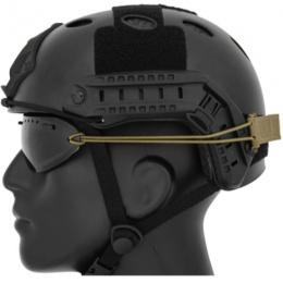 UK Arms Airsoft Regulator Goggle Cord/Hook and Loop Strap Kit - TAN