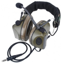 Z-Tactical zComtac II Communications Systems Headset - FOLIAGE