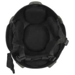 Lancer Tactical Airsoft Tactical MICH 2002 SF Type Helmet - GREEN