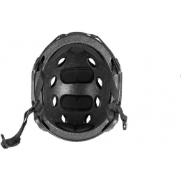 Lancer Tactical Airsoft Tactical BJ Type Basic Helmet Medium - BLACK