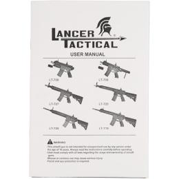Lancer Tactical M4 MRS Modular Rail System MOD1 Airsoft AEG Rifle