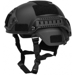 Lancer Tactical MICH 2000 SF Type Tactical Helmet - BLACK