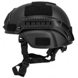 Lancer Tactical MICH 2000 SF Type Tactical Helmet - BLACK