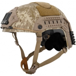 Lancer Tactical Airsoft Tactical Maritime Simple Helmet - DESERT DIGITAL