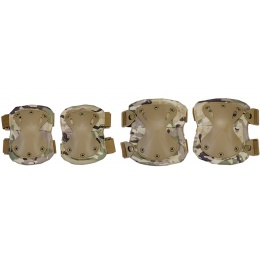UK Arms Airsoft Tactical QR Elbow Knee Pad Set - MODERN CAMO