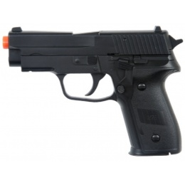 Double Eagle Airsoft M26 Compact Spring Pistol - BLACK