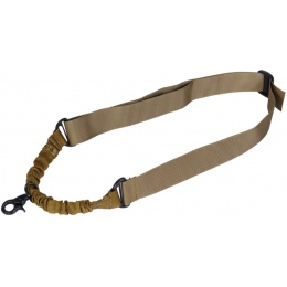 Lancer Tactical Airsoft Nylon Single Point Sling - TAN