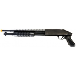 CYMA P788B Airsoft Spring Powered Pump Shotgun - BLACK