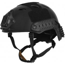 Lancer Tactical Airsoft Tactical PJ Type Helmet LRG/XL - BLACK