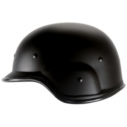 UK Arms PASGT Airsoft Helmet w/ Adjustable Chin Strap - BLACK