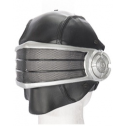 UK Arms Airsoft Wire Mesh Full Face Snake Eyes Mask - SILVER/BLACK