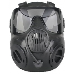 UK Arms Airsoft Tactical CBRN EM50 Lens Mask Set w/ Built-In Fans - FG
