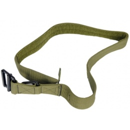 Lancer Tactical Airsoft Tactical Riggers Combat Belt Medium - OD