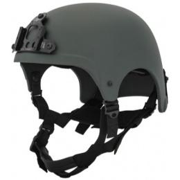 Lancer Tactical Airsoft Tactical IBH NVG Basic Helmet - OD